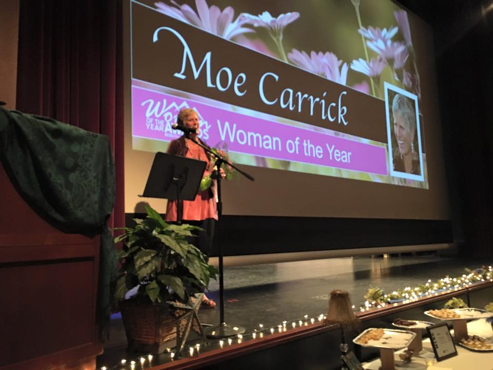 Moe carrick- Woman of the year