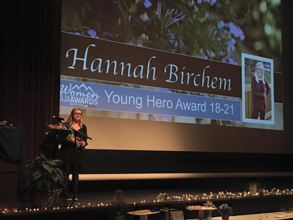 Hannah bircham - young hero