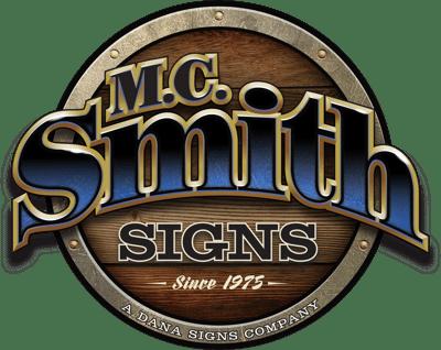 M.C. Smith Sign