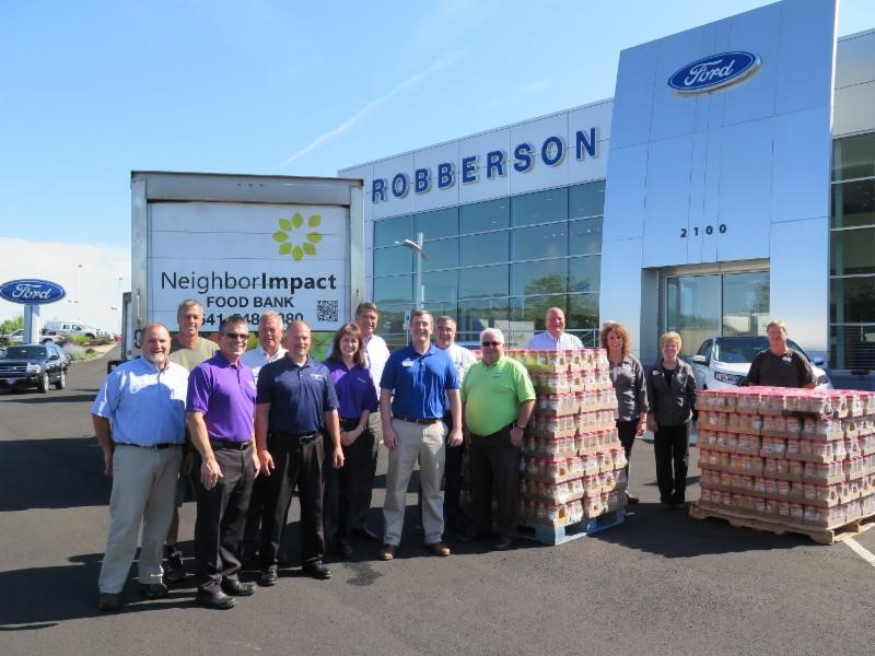 Robberson Ford And The Peanut Butter Drive 187 Bend Chamber