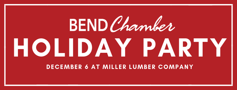 2018 Bend Chamber Holiday Party Tonight Bend Chamber Of Commerce