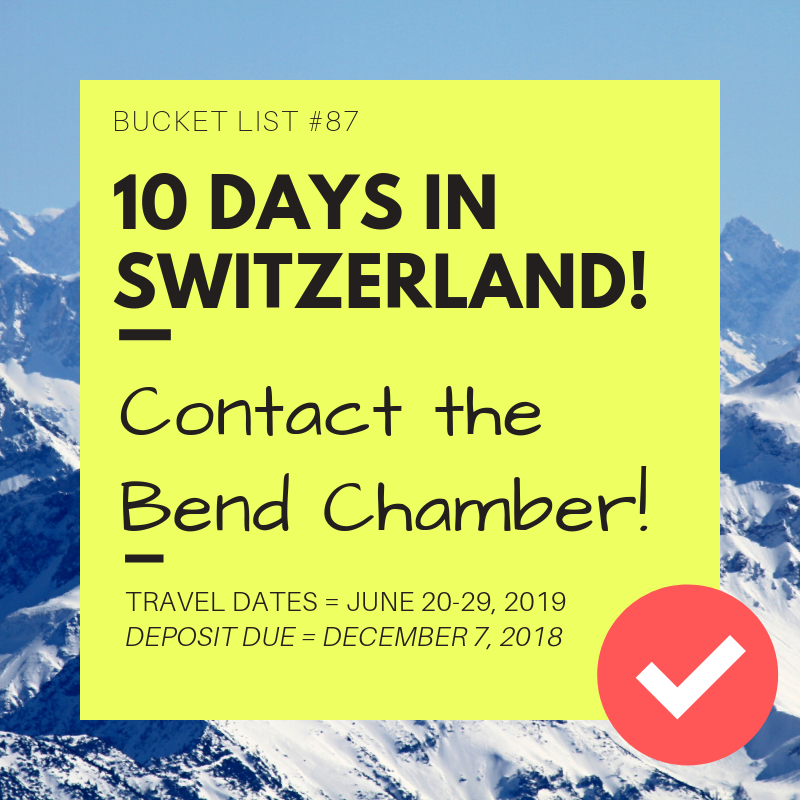 Switzerland -BC travel