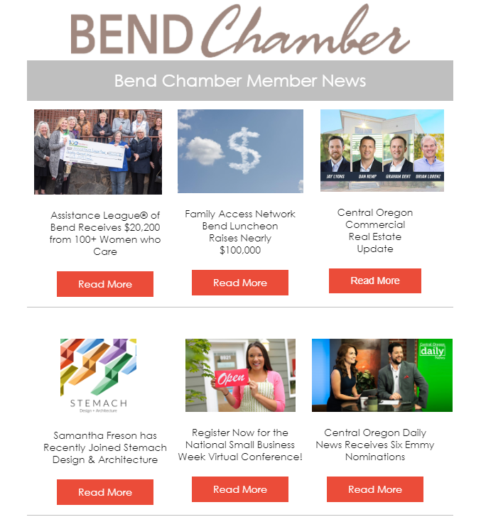 Member News » Bend Chamber of Commerce