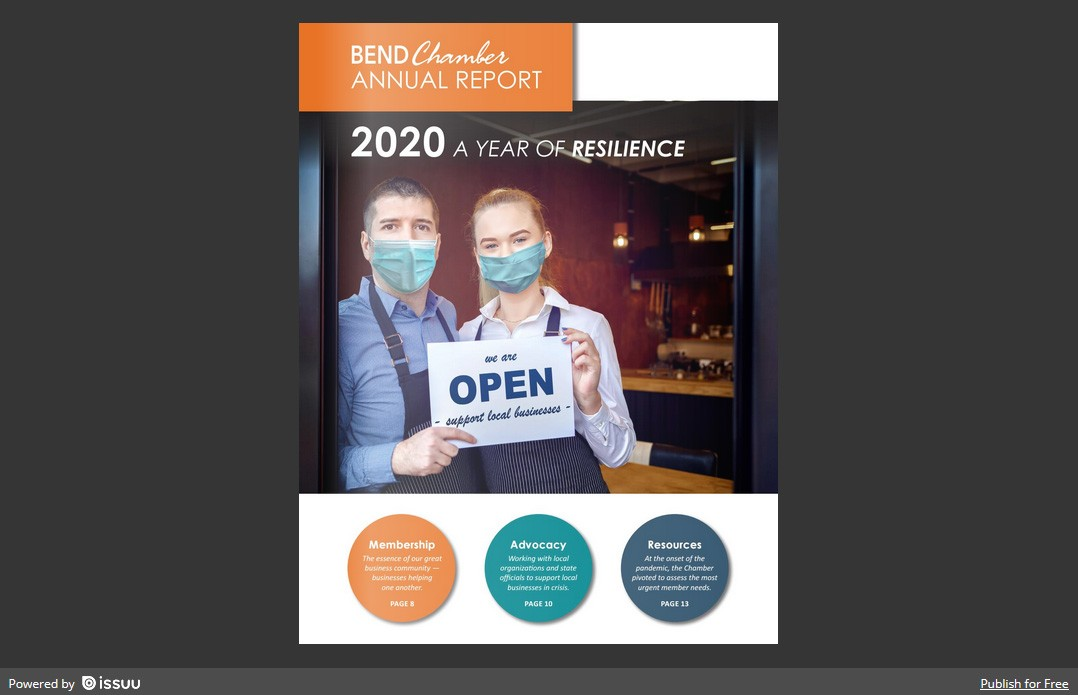 2020 Bend Chamber Annual Report